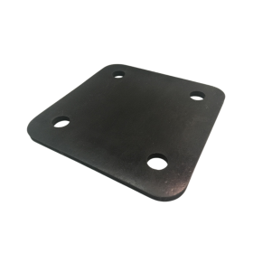 GRP 5mm Rubber Base Foot Pad (Black)
