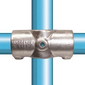 119-D / Two Socket Cross Galvanised