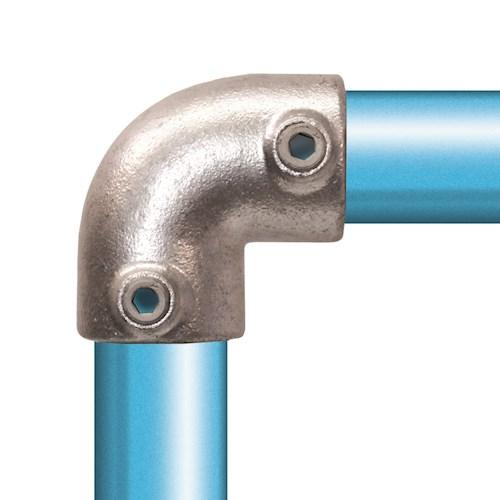 125-D / 90° Elbow Galvanised