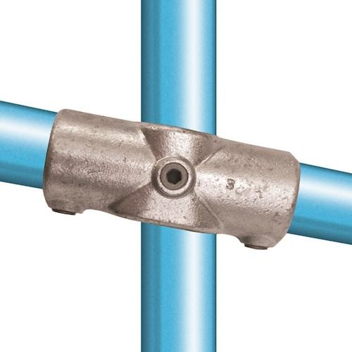 156-D / 0° to 11° Two Socket Cross Galvanised