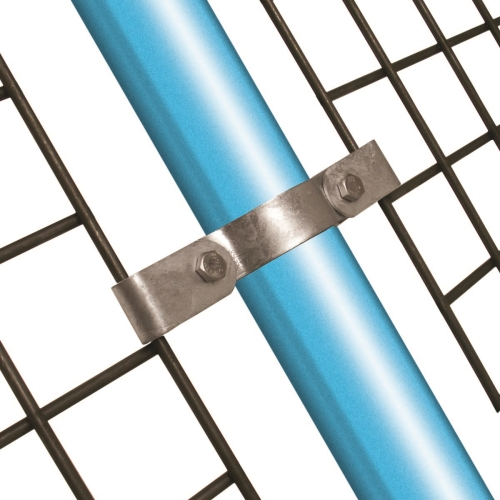 171-D / Mesh Panel Clip - Double (Galvanised)
